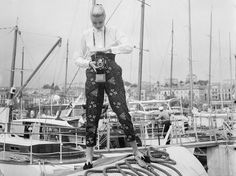 Vintage Photos of Celebs Hanging Out at Cannes : via @Condé Nast Traveler #GraceKelly 1955