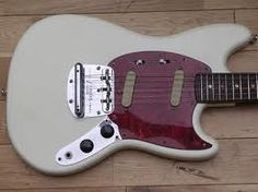 Fender Mustang- maybe the best looking guitar of all time.