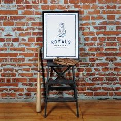 Montreal Royals The Player Silk Screen Poster - Main and Local