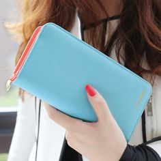 Fashionable Long Wallets for Women www.therealnomad.com