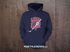 """Subbang"" hoodies now available at www.NorthLegends.ca"