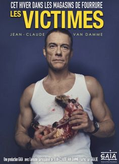 Jean-Claude van Damme in an anti-fur campaigne. Way to go, JCVD! You're a good guy. Claude Van Damme, Animal Fur, Stop Animal Cruelty, The Expendables, Animal Welfare, Animal Rights, Peta, Going Vegan, Photo Manipulation