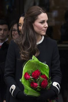 Catherine, Duchess of Cambridge, leaves after visiting Northside Center for Child Development on December 8, 2014 in New York City. The royal couple are on an official three-day visit to New York.