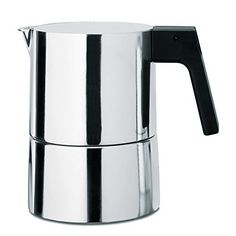 "Piero Lissoni Pina Espresso Coffee Maker Size: 5.91"" by Alessi"