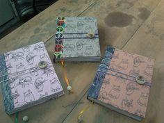 - Fusión+Arte = FA - Papel reciclado hecho en Bresky - Cerámica gres hecha en Bresky - Cuadernos hechos en Bresky - El resultado .....encuadernación francesa al Estilo Bresky ... ¿Cual te gusta? ..
