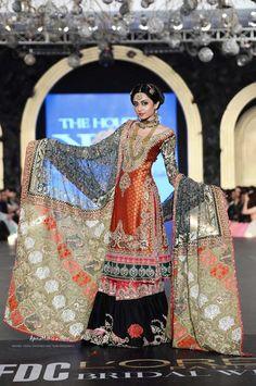 PFDC L'Oreal Bridal Fashion Week 2013 - Kamiar Rokni