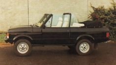 Supersick Range Rover Cabriolet by GPM in the 80's
