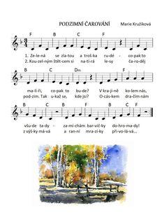 Fall Preschool, Kids Songs, Sheet Music, English, Teaching, Education, Musica, Nursery Songs, English Language