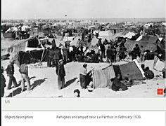 Refugiados en Francia 1939
