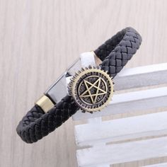 Supernatural Pentagram Black Butler Bracelet (Free Shipping)