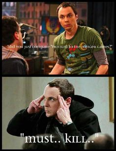 When you can't find the right words to say...Sheldon. :D