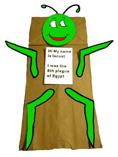 The 10 Plagues of Egypt - #8 Locust Crafts