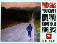 Who says you can't run away from your problems?