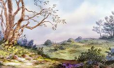 Animation Backgrounds: RABBIT'S HUTCH!