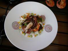 JHS /  La mer dans le plat, les crevettes calmars Gino D'Aquino