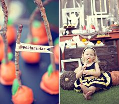"""Rustic-Style """"Sweet and Spooky"""" Halloween"""