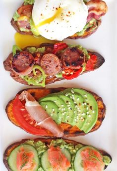 9. Sweet Potato Toast #greatist https://greatist.com/eat/whole-30-recipes-for-every-meal
