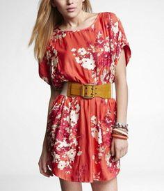 Express - Floral Dress