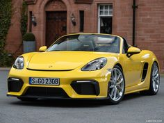 The Porsche 718 Cayman and 718 Spyder are just flat (six) wonderful Porsche Boxster, Boxster Spyder, Porsche 718 Cayman, Porsche Motorsport, Porsche 911, Cayman Gt4, Porsche Sports Car, Mitsubishi Pajero, Gt Cars