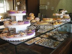 Un Buffet tutto Dolce!!!!  http://www.latavolozzadeisapori.it/ricette/un-buffet-tutto-dolce