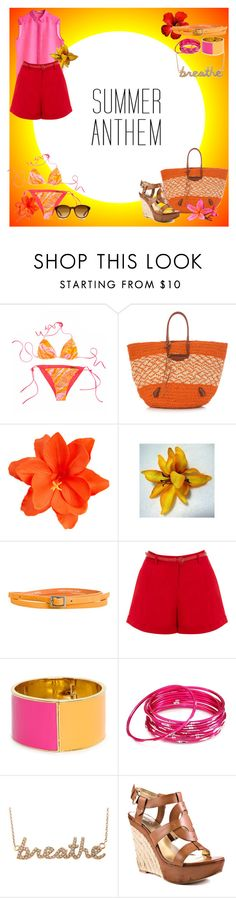 """""""summer time brights"""" by swagqueen-1 ❤ liked on Polyvore featuring Missoni, Balenciaga, MTWTFSS Collection, ASOS, Cheap Monday, Oasis, Kate Spade, Chamak by Priya Kakkar, Sydney Evan and GUESS"""