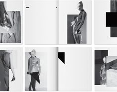 Rick Owens Lookbooks Layout by Non Format http://mbhshowroom.blogspot.com