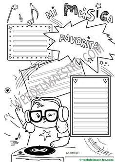Aprender a redactar mi música favorita- Ideas Para, Classroom, Spanish, Texts, Writing Strategies, Creative Writing, Teaching Writing, Hipster Stuff, Sentence Structure