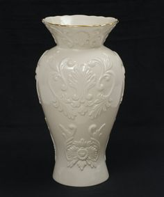 Ivory China Lenox Filigree Forest Petite Vase, Home Decorating ...