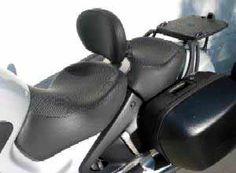 Backrest - Rider Backrest for BMW R1100RT / R1150RT - Bakup
