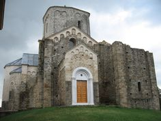Saint George Pillars Monastery - Manastir Đurđevi Stupovi - has been on the list of UNESCO World Heritage Sites since 1979 and it is on the Transromanica Route.