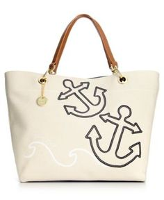 Canvas Sail Tote, cute summer bag alongside my Bulova