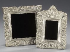 Spanish Colonial Decor | 20: TWO SPANISH COLONIAL STYLE SILVER FRAMES. : Lot 20