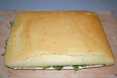 focaccia tramezzino 13 Focaccia Pizza, Bread And Pastries, Snacks, Antipasto, I Love Food, Kids Meals, Nutella, Tapas, Buffet