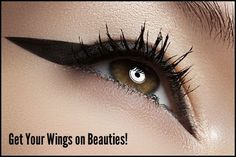 How to Do Winged Eyeliner Perfectly How To Do Winged Eyeliner, Winged Eyeliner Tutorial, Perfect Eyeliner, Eyeliner Looks, Emo Makeup, Cat Eye Makeup, No Eyeliner Makeup, Hair Makeup, Bold Eyeliner