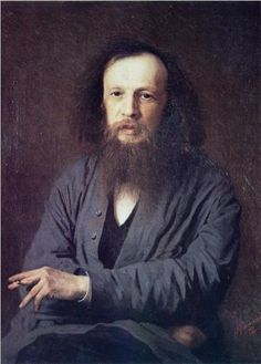 Dmitri Ivanovich Mendeleev  February 8, 1834 – February 2, 1907)   Russian chemist and inventor. He is credited as being the creator of the first version of the periodic table of elements. Using the table, he predicted the properties of elements yet to be discovered.
