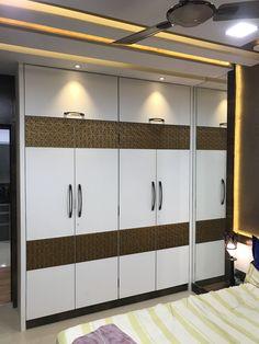 Wardrobe Interior Design, Wardrobe Door Designs, Wardrobe Design Bedroom, Door Design Interior, Interior Work, Bedroom Furniture Design, Wardrobe Doors, Bed Furniture, Alcove Ideas Living Room