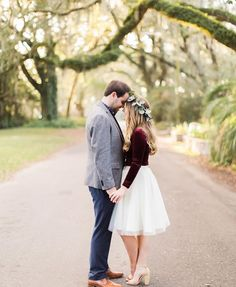 Engagement photos with tulle.. tulle skirt by Bliss Tulle