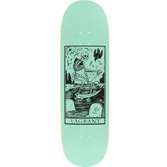 Vagrant Skateboards Deathcard Seafoam Skateboard Deck - x 32 at Warehouse Skateboards - - Painted Skateboard, Skateboard Deck Art, Electric Skateboard, Skateboard Design, Custom Skateboard Decks, Custom Skateboards, Complete Skateboards, Cool Skateboards, Art Michael Jordan