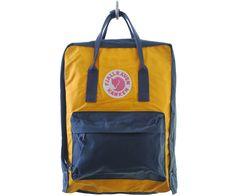 Fjall Raven Kanken Bag Navy Warm Yellow 3338cdbbfc015