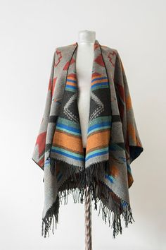 Hey, I found this really awesome Etsy listing at https://www.etsy.com/listing/218317469/aztec-wool-poncho-tribal-poncho-ethnic