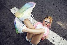 Los #sneakers que todas queremos! #ReebokVentilator by #AretaSzpura. #EstoEsVentilator