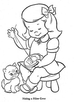 Hi-Flyer Coloring Book Published in 1966 by Samuel Lowe Company of Kenosha, Wisconsin