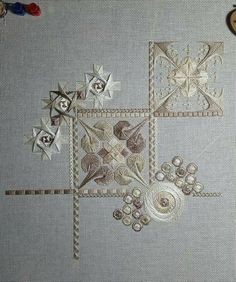 Explorations by Debbee's Designs Hardanger Embroidery, Learn Embroidery, Embroidery Art, Cross Stitch Embroidery, Embroidery Patterns, Cross Stitch Patterns, Broderie Bargello, Bargello Needlepoint, Needlepoint Stitches