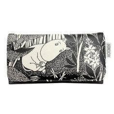 Moomintroll Dreaming Wallet by Disaster Designs