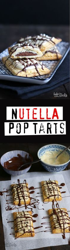 Delicious little Nutella Pop Tarts   Bake to the roots