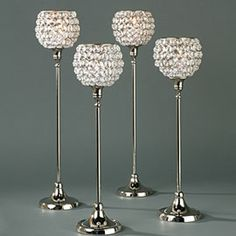 bling bling centerpiece | ... to accompany your centerpieces are also available at Z-Gallerie