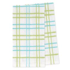 Picture of Green Plaid Tea Towel - 2 Pack