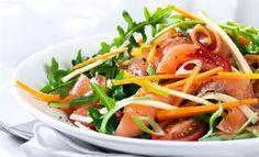 Salada Rapidinha com Molho de Iogurte
