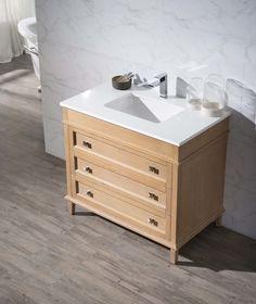 """Norwood 37"""" Single Sink Bathroom Vanity Set"""