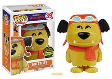 Wacky Races Muttley flocked Pop! figure by Funko, Gemini Collectibles Exclusive